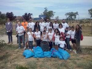 recoger basura voluntairos